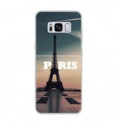 Coque en silicone Samsung Galaxy S8 - Paris