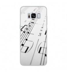 Coque en silicone Samsung Galaxy S8 - Partition de musique