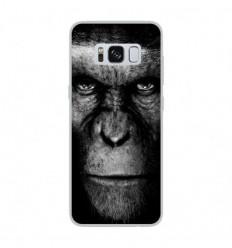 Coque en silicone Samsung Galaxy S8 - Singe