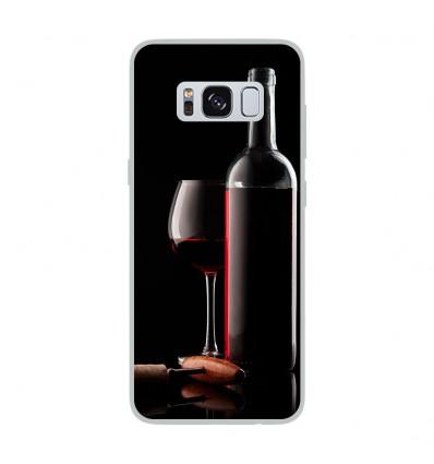 Coque en silicone Samsung Galaxy S8 - Vin