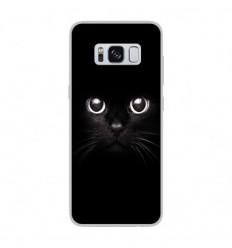 Coque en silicone Samsung Galaxy S8 - Yeux de chat