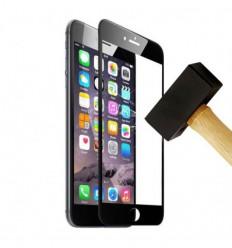 Film verre trempé 4D - Apple IPhone 6 / 6S Noir protection écran