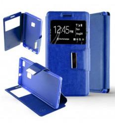 Etui Folio Huawei P10 Lite - Bleu