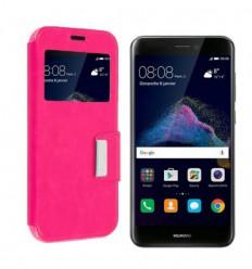 Etui Folio Huawei P8 Lite 2017 - Rose