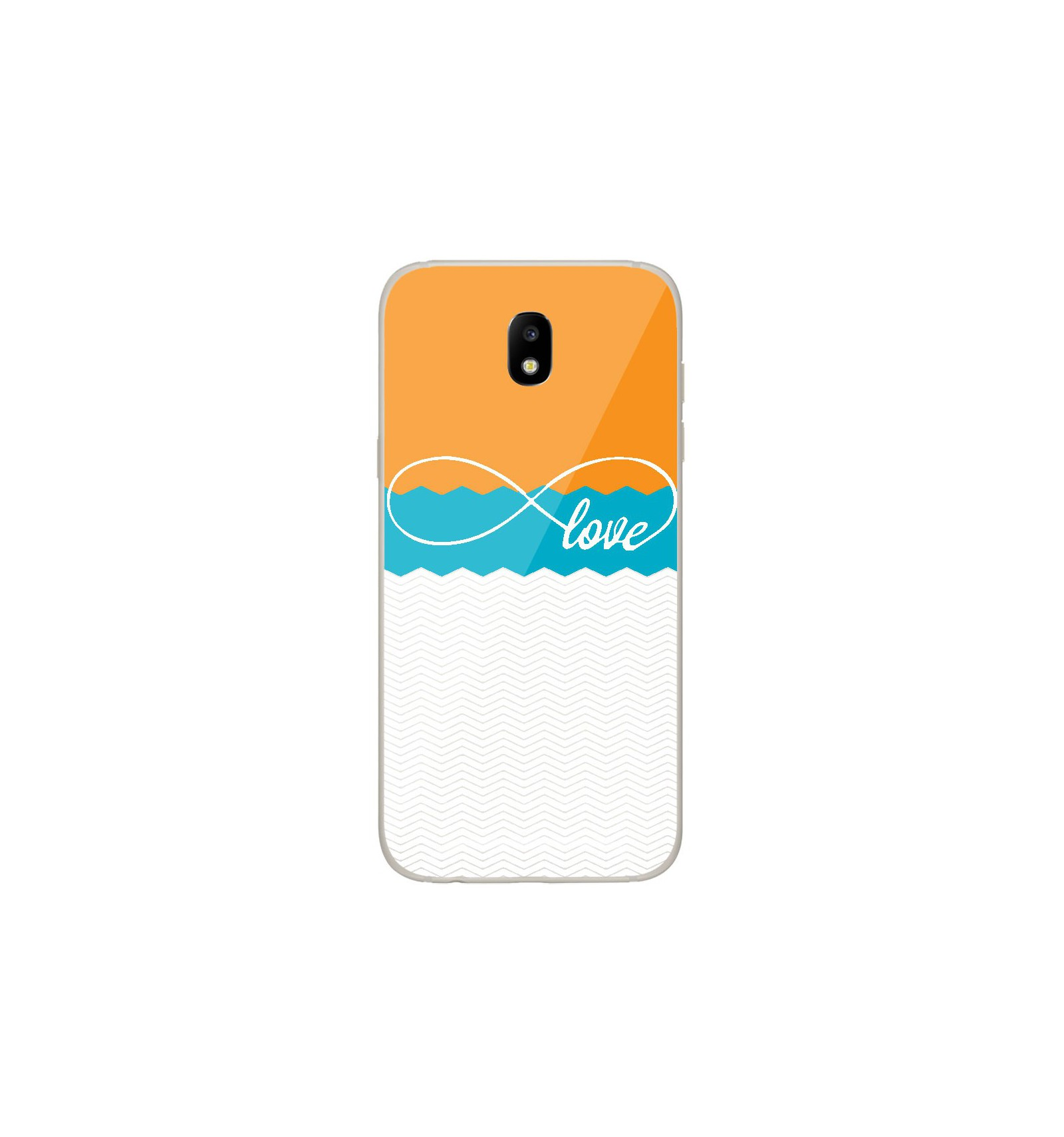 coque samsung j5 2017 orange