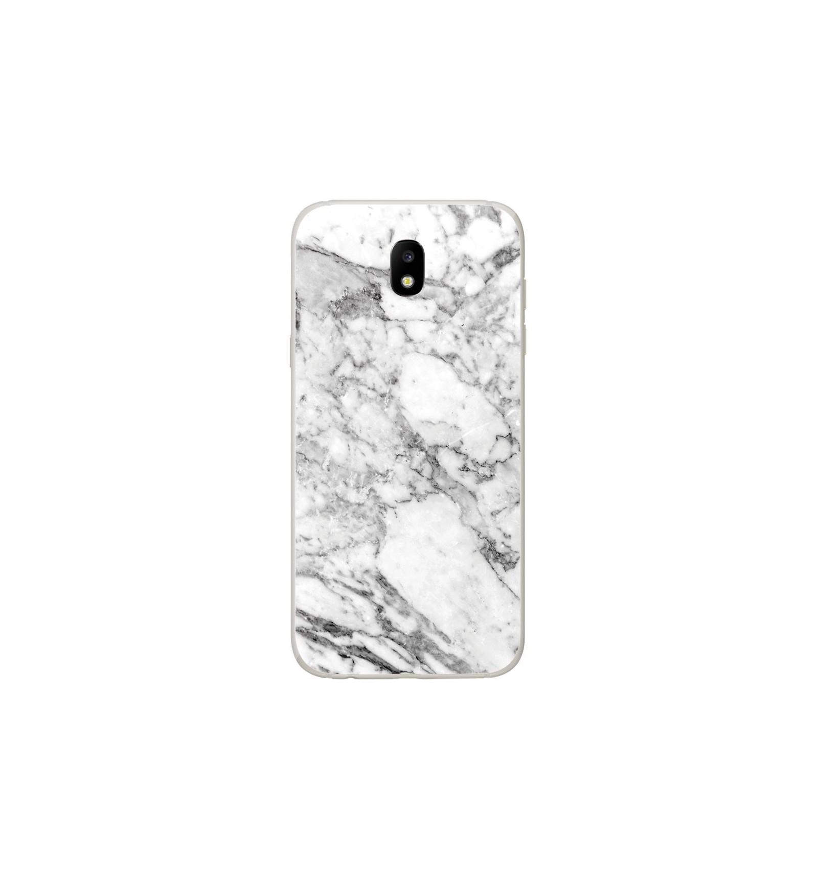 Coque En Silicone Samsung Galaxy J5 2017 Marbre Blanc