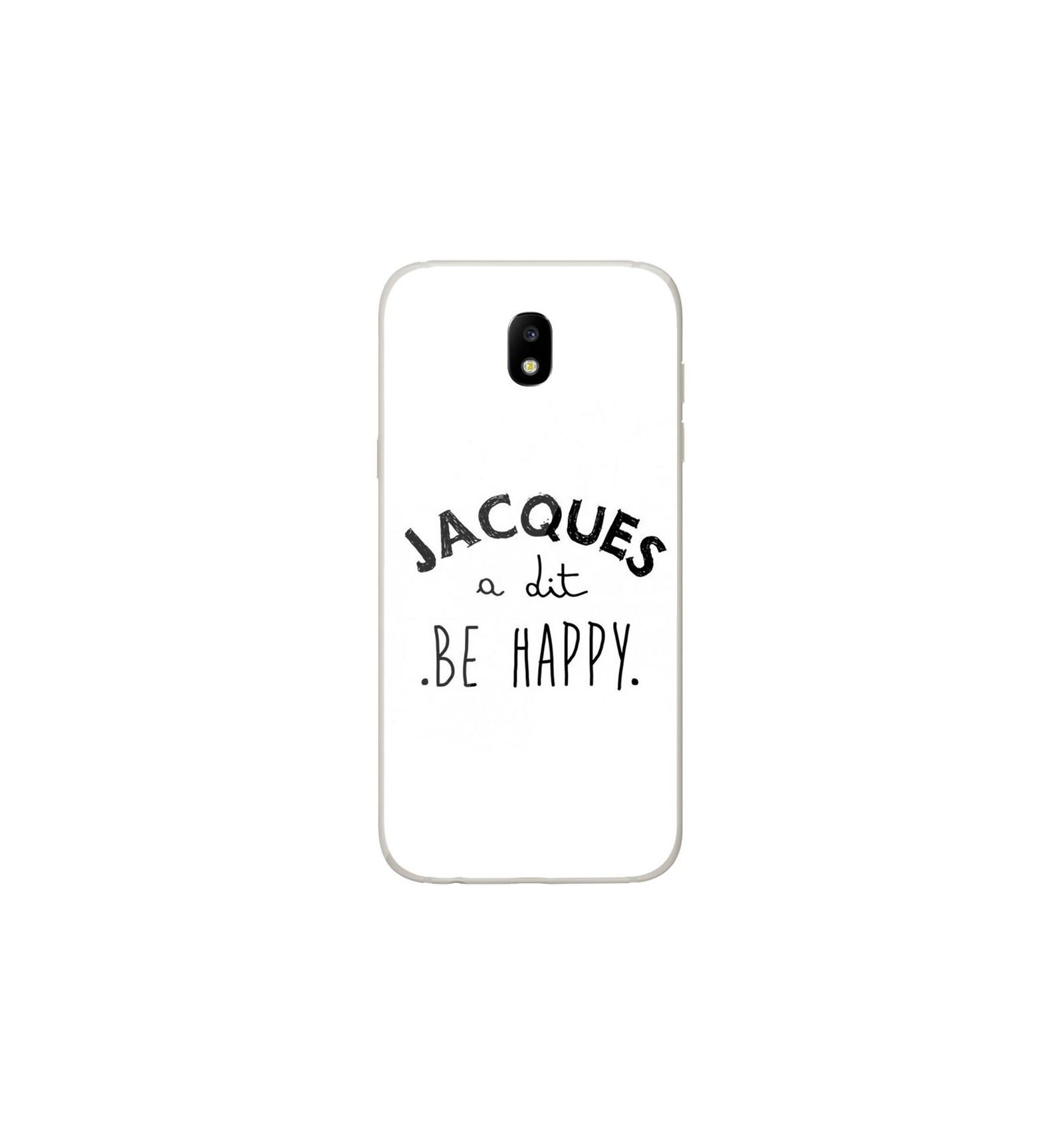 coque samsung j5 phrase