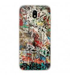 Coque en silicone Samsung Galaxy J5 2017 - Graffiti 1