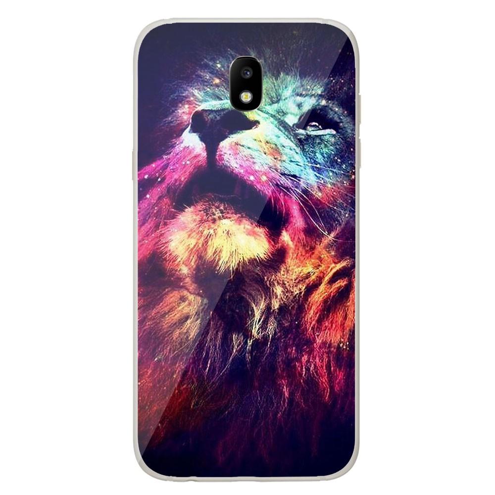 Coque en silicone Samsung Galaxy J5 2017 - Lion swag