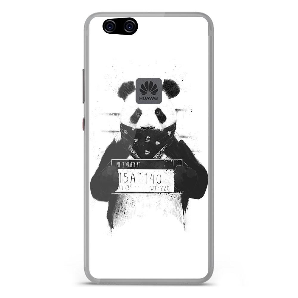 Coque en silicone Huawei P10 Lite - BS Bad Panda