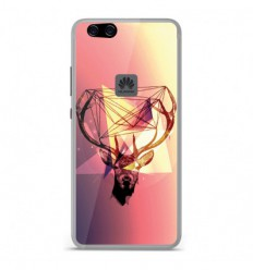 huawei p10 lite coque cerf
