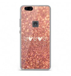 coque protection huawei p10 lite pailletes