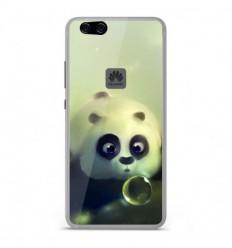 Coque en silicone Huawei P10 Lite - Panda Bubble