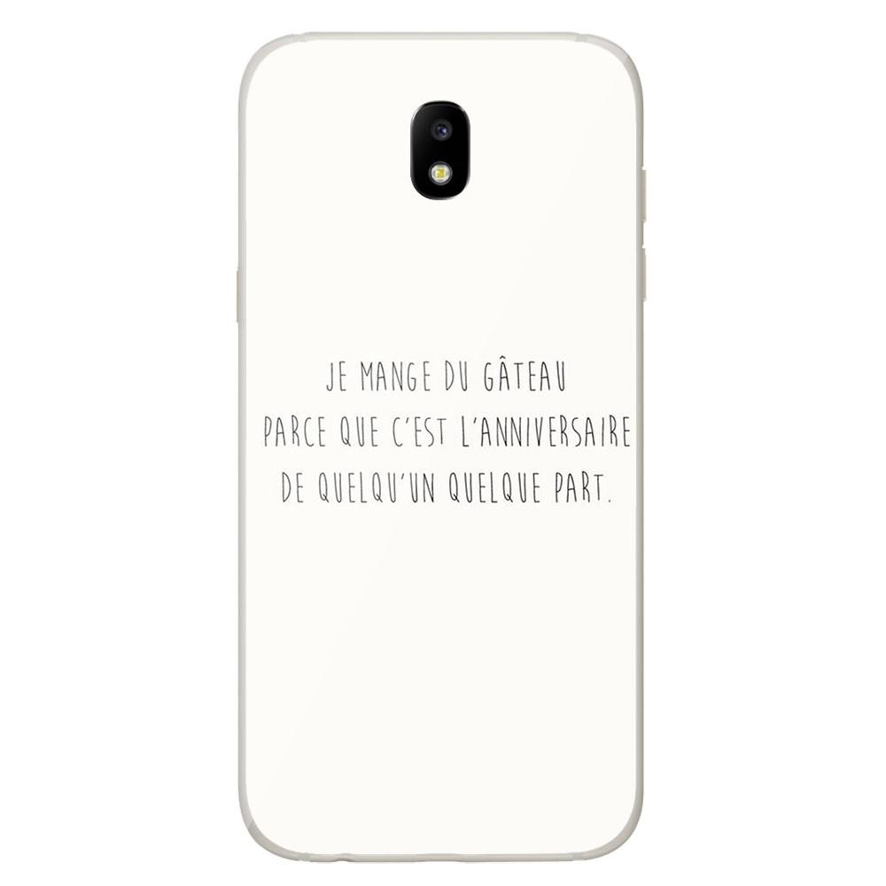 Coque en silicone Samsung Galaxy J3 2017 - Citation 12