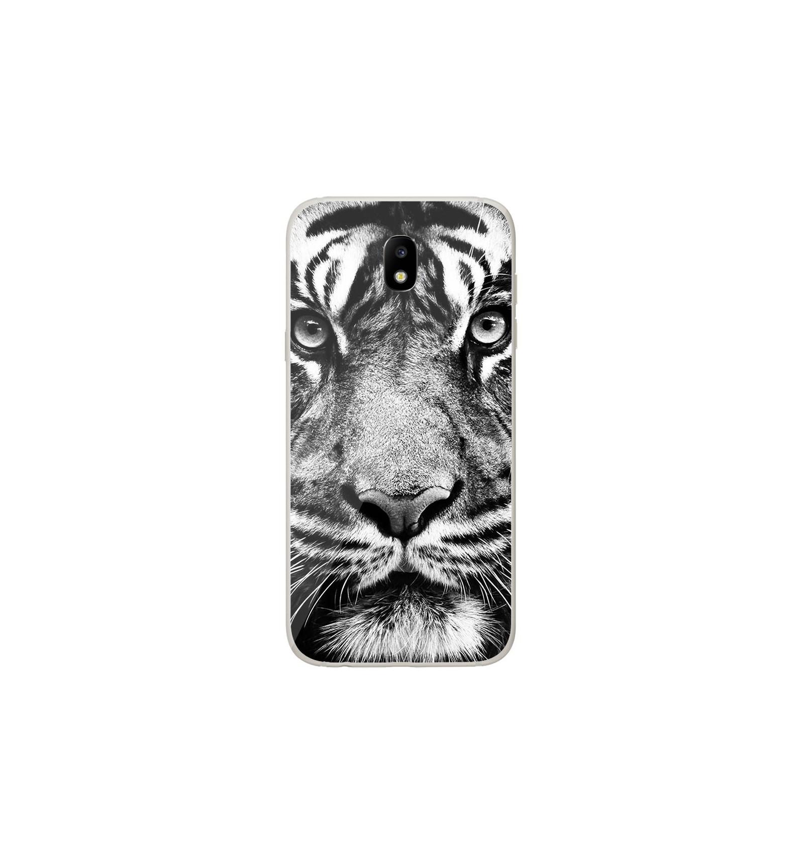 samsung galaxy j3 coque tigre