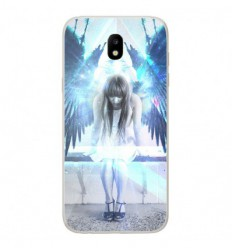 Coque en silicone Samsung Galaxy J7 2017 - Angel