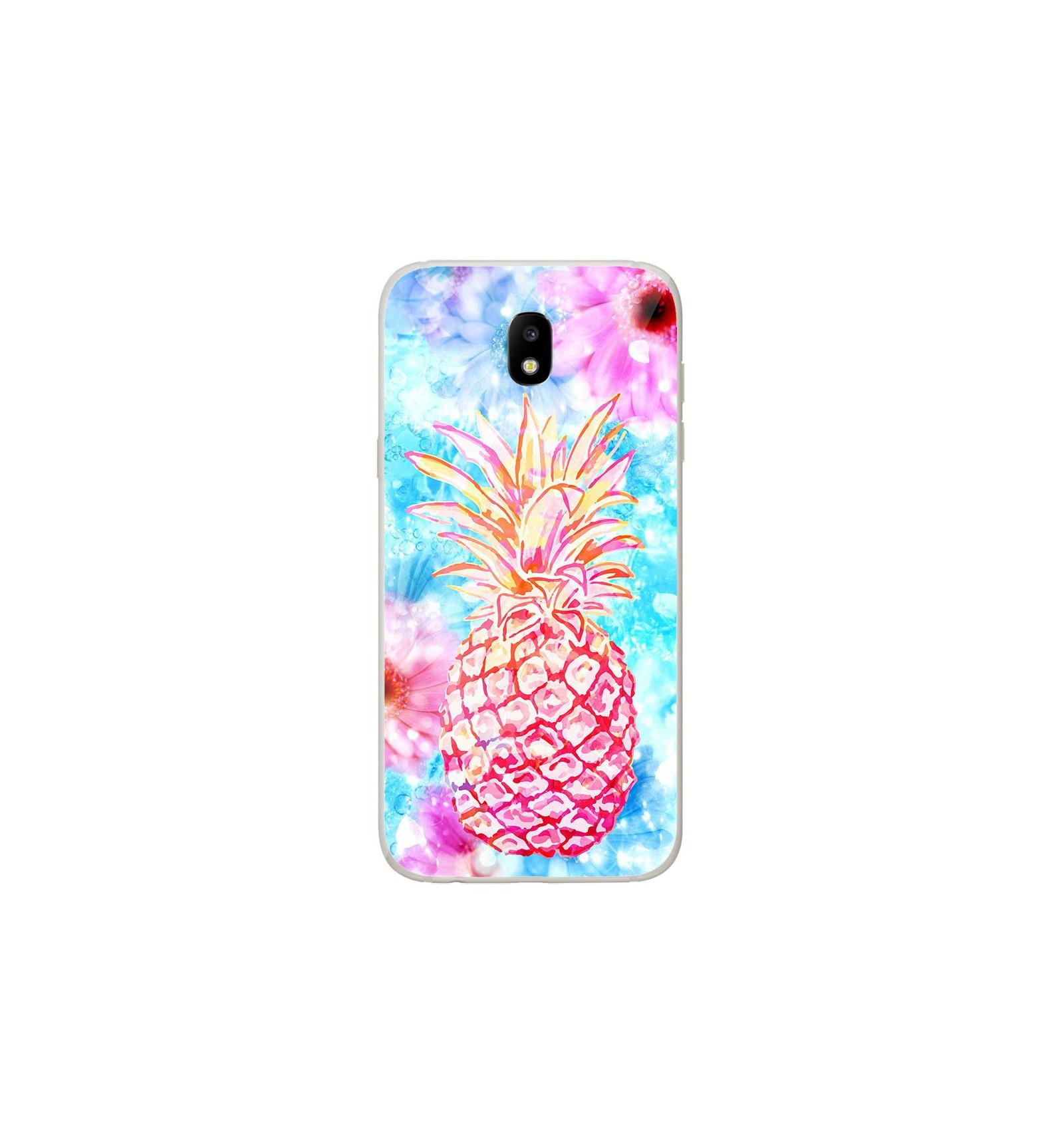 coque samsung j7 2017 ananas