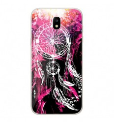 Coque en silicone Samsung Galaxy J7 2017 - Dreamcatcher Rose
