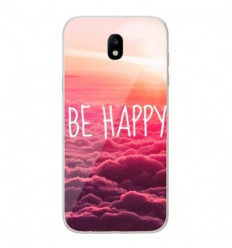 Coque en silicone Samsung Galaxy J7 2017 - Be Happy nuage