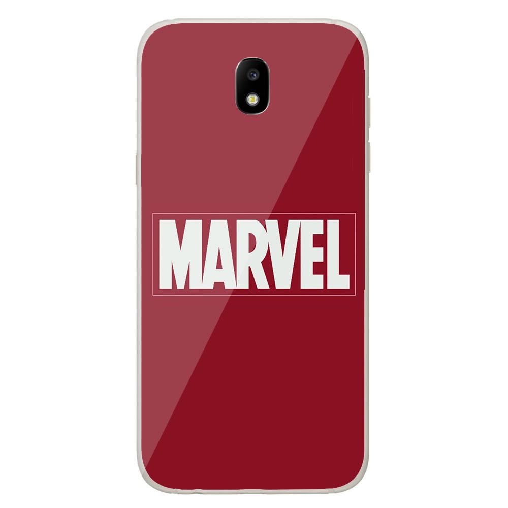 Coque en silicone Samsung Galaxy J7 2017 - Marvel