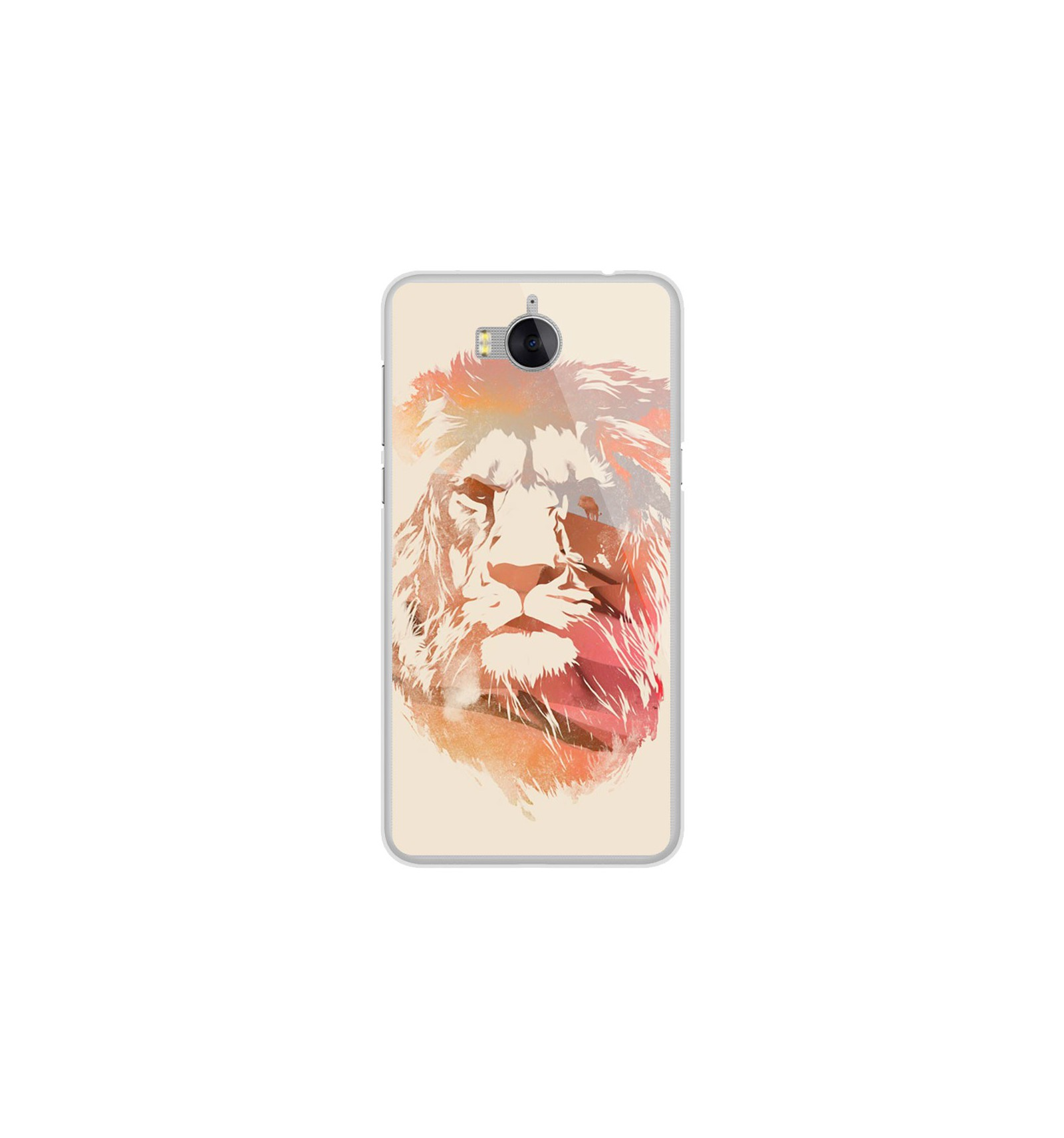 huawei y6 2017 coque lion