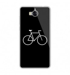 Coque en silicone Huawei Y6 2017 - Bike Hipster