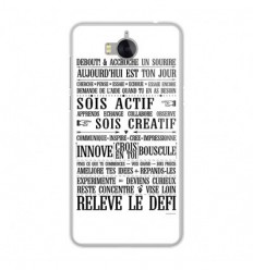 Coque en silicone Huawei Y6 2017 - Citation 11