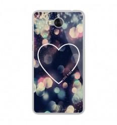 Coque en silicone Huawei Y6 2017 - Coeur Love