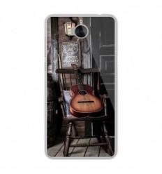 Coque en silicone Huawei Y6 2017 - Guitare