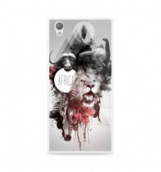 Coque en silicone Sony Xperia L1 - Africa Swag