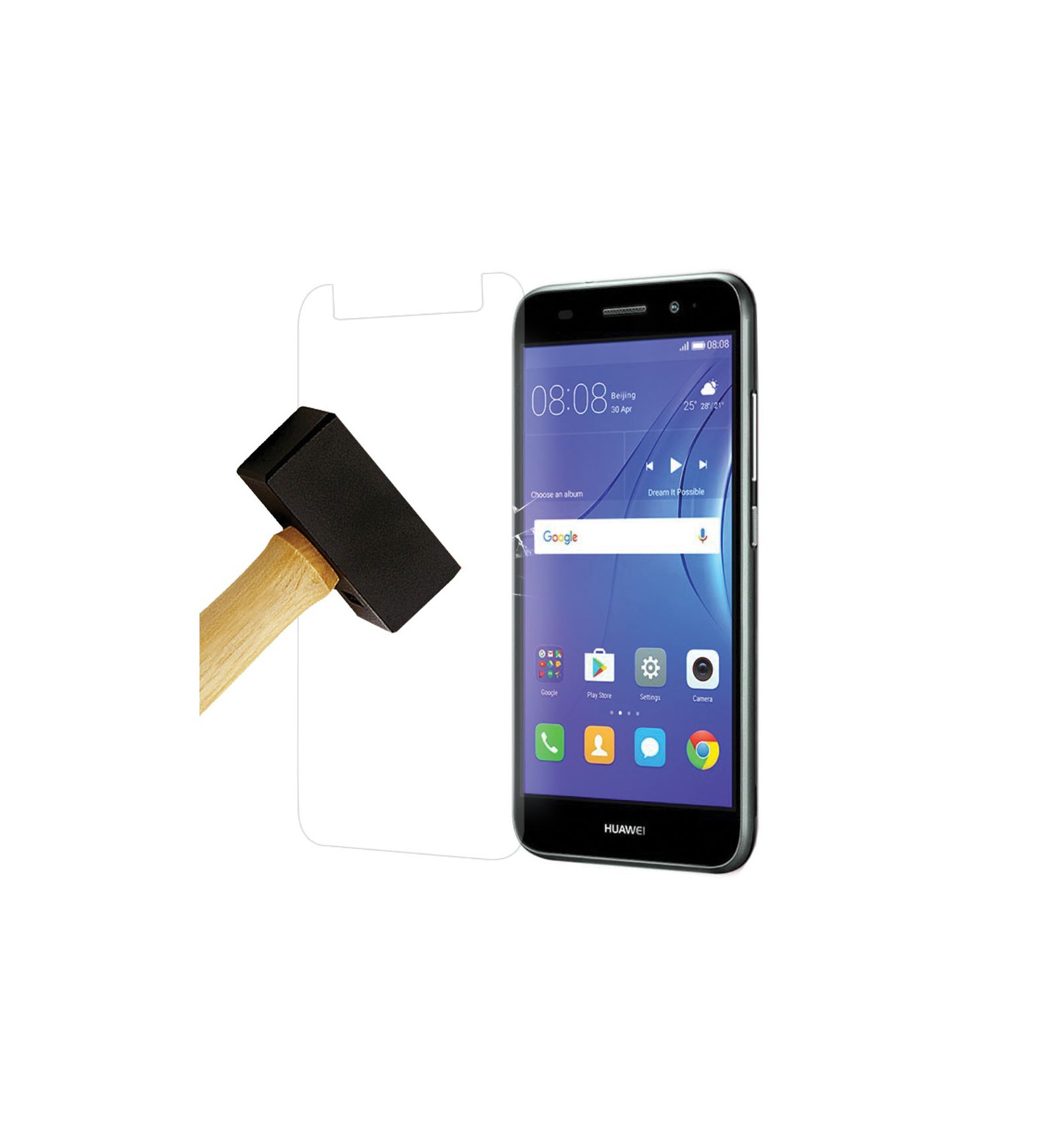 coque clapet huawei y6 2017