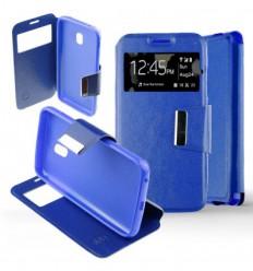 Etui Folio Samsung Galaxy J3 2017 - Bleu
