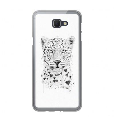 Coque en silicone Samsung Galaxy J5 Prime - BS Love leopard