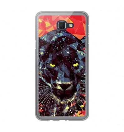 Coque en silicone Samsung Galaxy J5 Prime - ML Noir Parduc