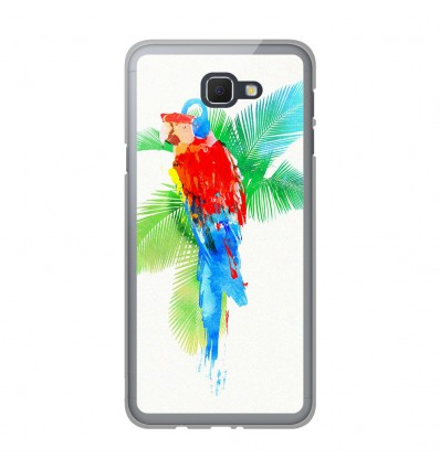 Coque en silicone Samsung Galaxy J5 Prime - RF Tropical party