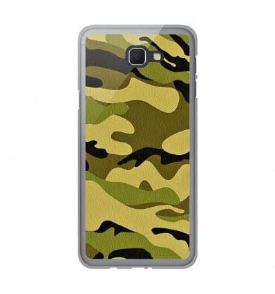 Coque en silicone Samsung Galaxy J5 Prime - Camouflage