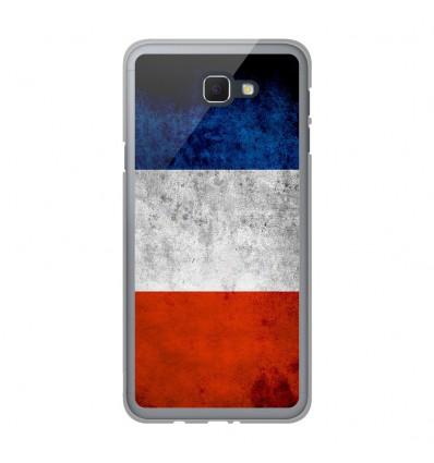 Coque en silicone Samsung Galaxy J5 Prime - Drapeau France