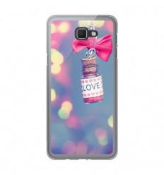 Coque en silicone Samsung Galaxy J5 Prime - Love noeud rose