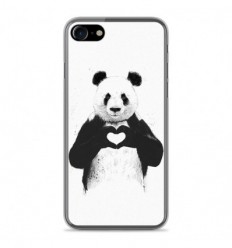 Coque en silicone Apple IPhone 8 - BS Love Panda