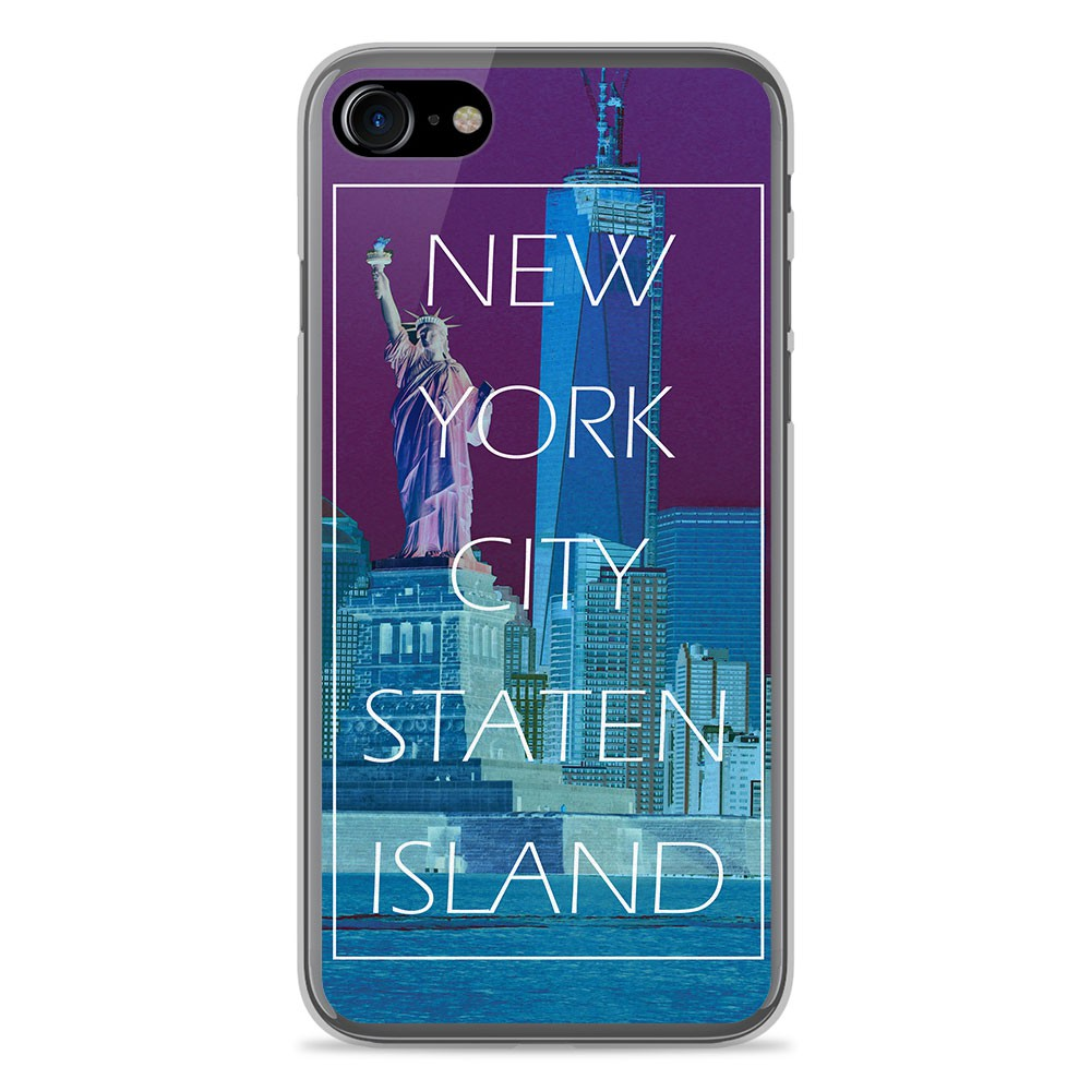 Coque en silicone Apple IPhone 8 - New york