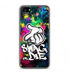 Coque en silicone Apple IPhone 8 - Swag or die