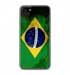 Coque en silicone Apple IPhone 8 - Drapeau Brésil