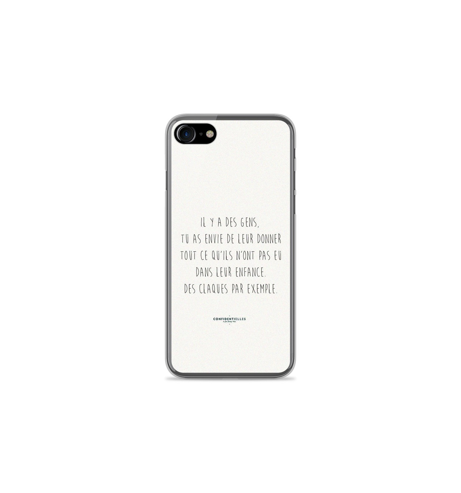 coque iphone 8 phrase