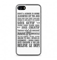 Coque en silicone Apple IPhone 8 - Citation 11
