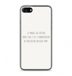 coque iphone 8 phrase drole