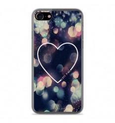 Coque en silicone Apple IPhone 8 - Coeur Love