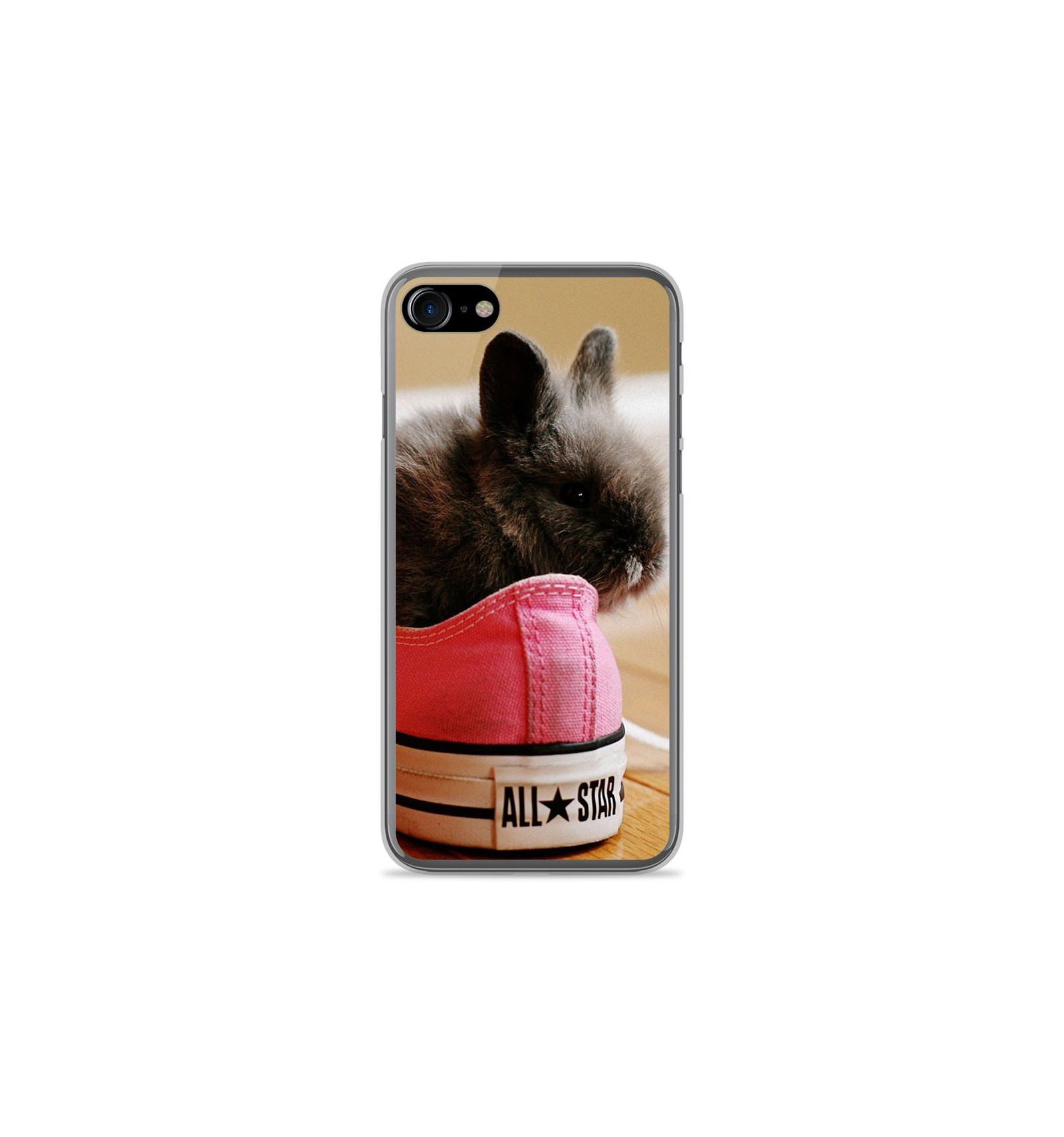 coque iphone 8 silicone lapin