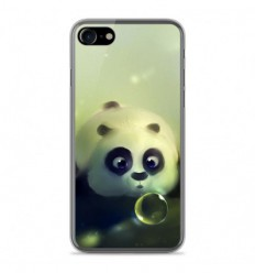 Coque en silicone Apple IPhone 8 - Panda Bubble