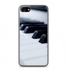 Coque en silicone Apple IPhone 8 - Piano