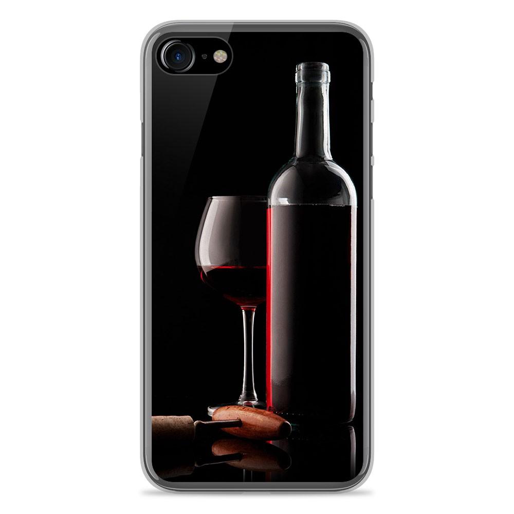 Coque en silicone Apple IPhone 8 - Vin